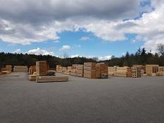 Stockage fabricant de palettes à Morestel